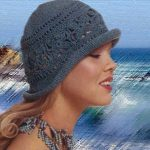 Фото вязанные спицами шляпки на зиму