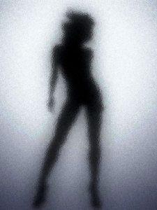 фото силуэт женщины 003