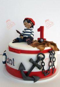 фото торт пираты 009