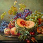 Фрукты овощи натюрморт — завораживающие картинки