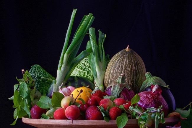 фрукты овощи натюрморт 012