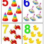 Цифры картинки для детей детского сада — подборка