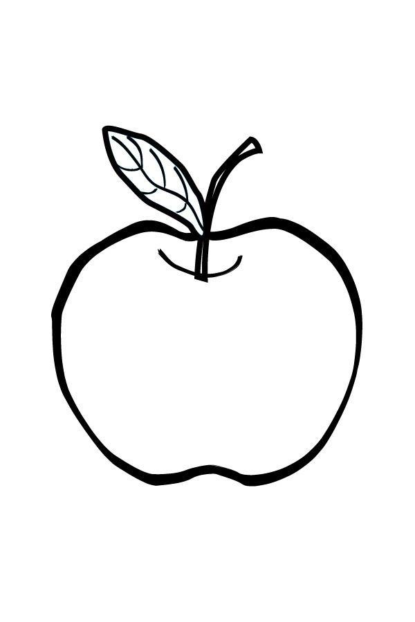 шаблон для аппликации овощи 007