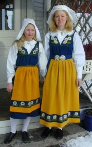 шведский национальный костюм 013