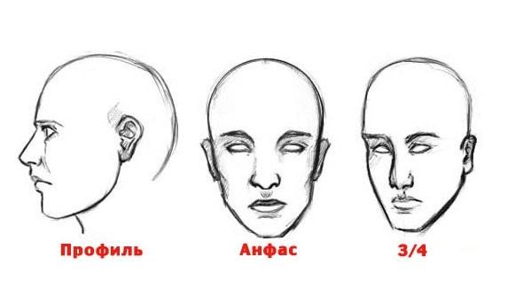 эскиз человека для рисования 004