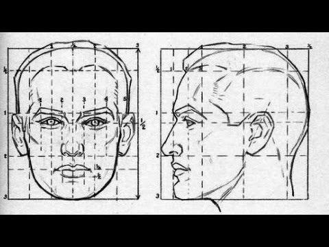 эскиз человека для рисования 011