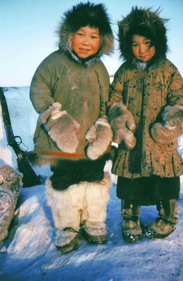Света, картинки эскимосов