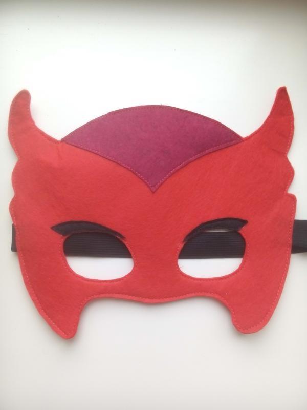 Герои в масках из фетра 005