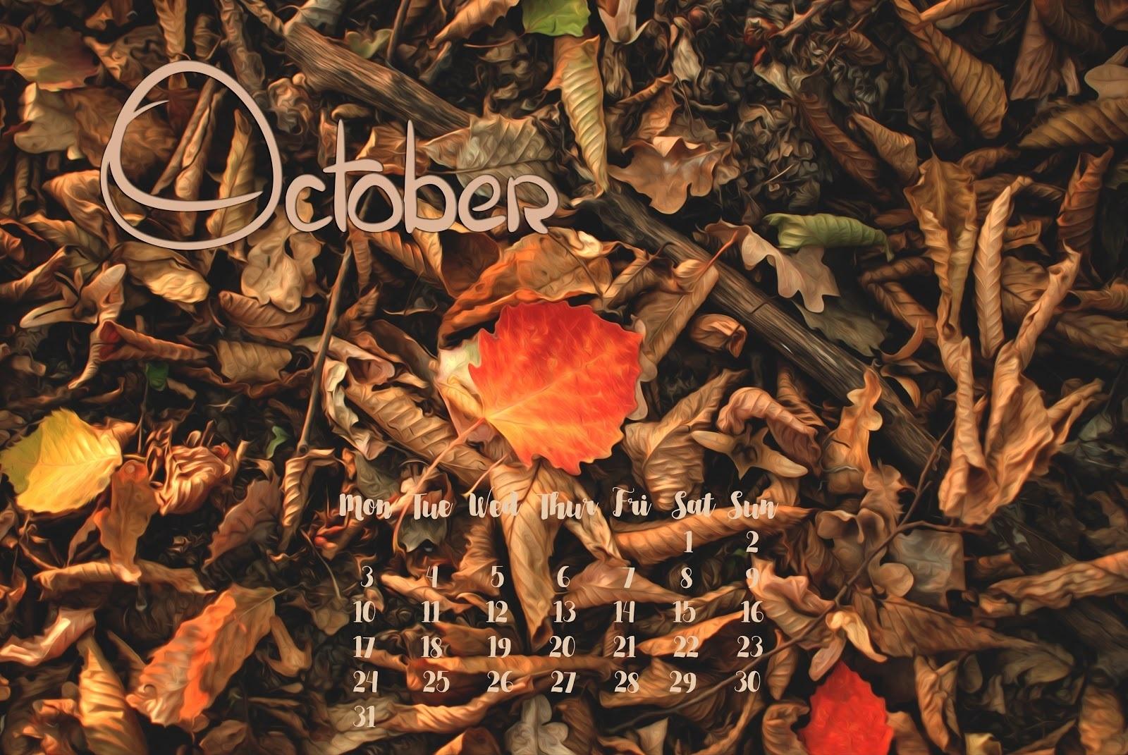 Заставка октябрь на рабочий стол (14)