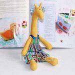 Игрушка жирафа своими руками — идеи (21 фото)