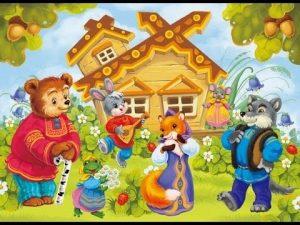 Иллюстрации в картинках к сказке теремок для детей 006