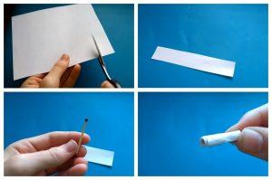 Интересные механизмы из бумаги 018