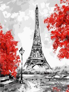 Картинки нарисованная эйфелева башня 022