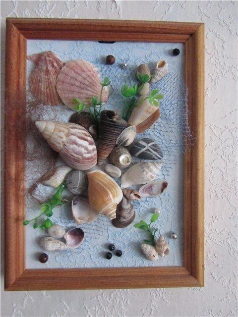 Картины своими руками из искусственных фруктов и цветов 018