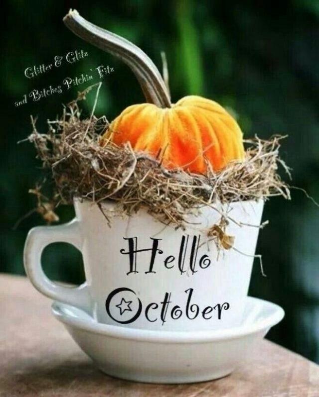 Красивые картинки с началом октября 011