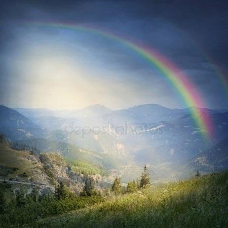 Красивые рисунки радуги 27 32 008