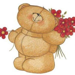 Милые картинки нарисованные медвежата 011