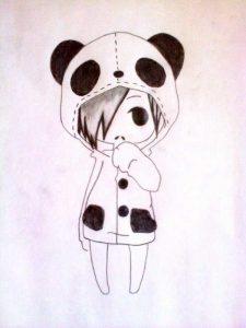 Милые рисунки для срисовки для девочек 014