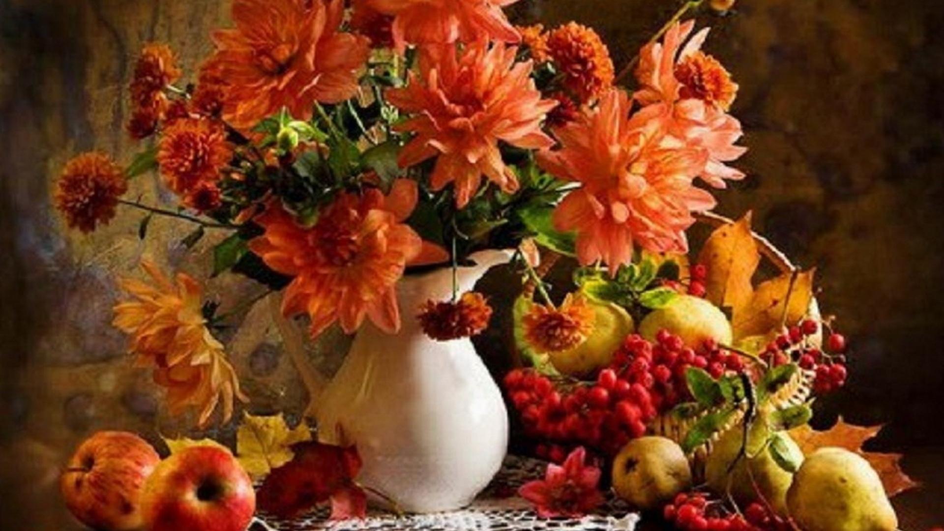 Обои для рабочего стола осенние цветы   скачать бесплатно (19)