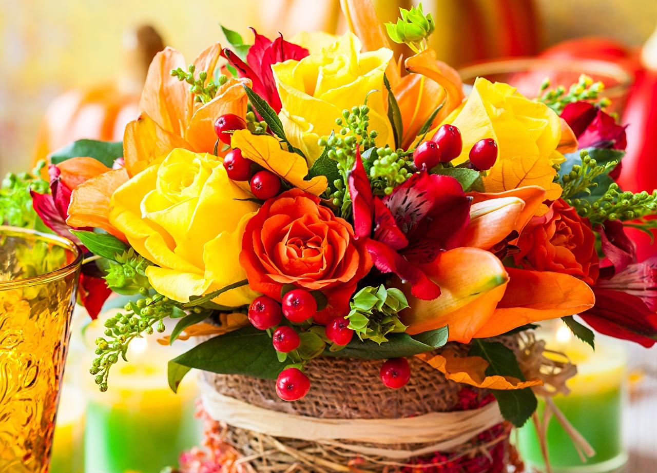 Обои для рабочего стола осенние цветы   скачать бесплатно (20)
