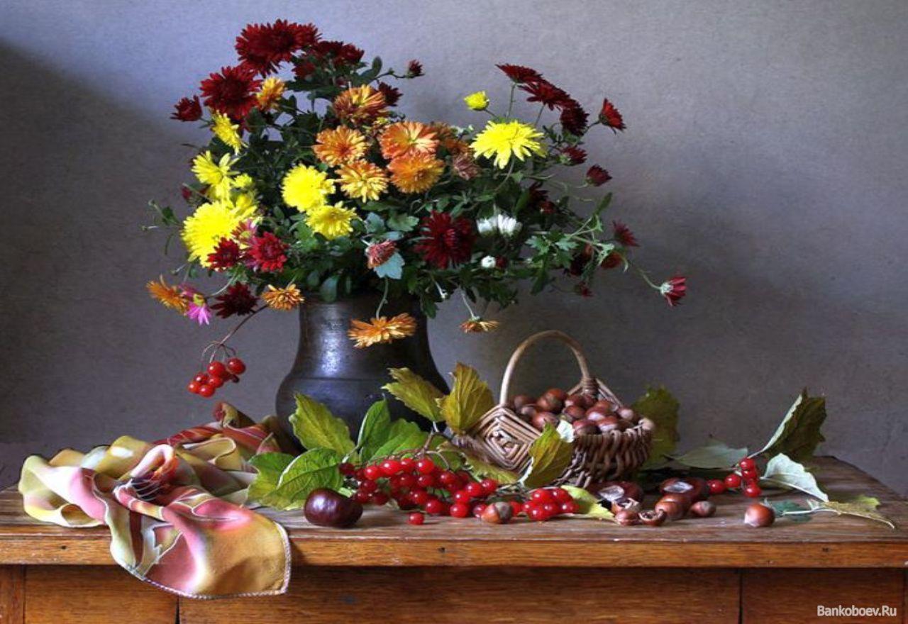 Обои для рабочего стола осенние цветы   скачать бесплатно (24)