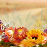 Обои для рабочего стола осенние цветы — скачать бесплатно