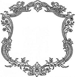 Орнамент рококо и барокко 001