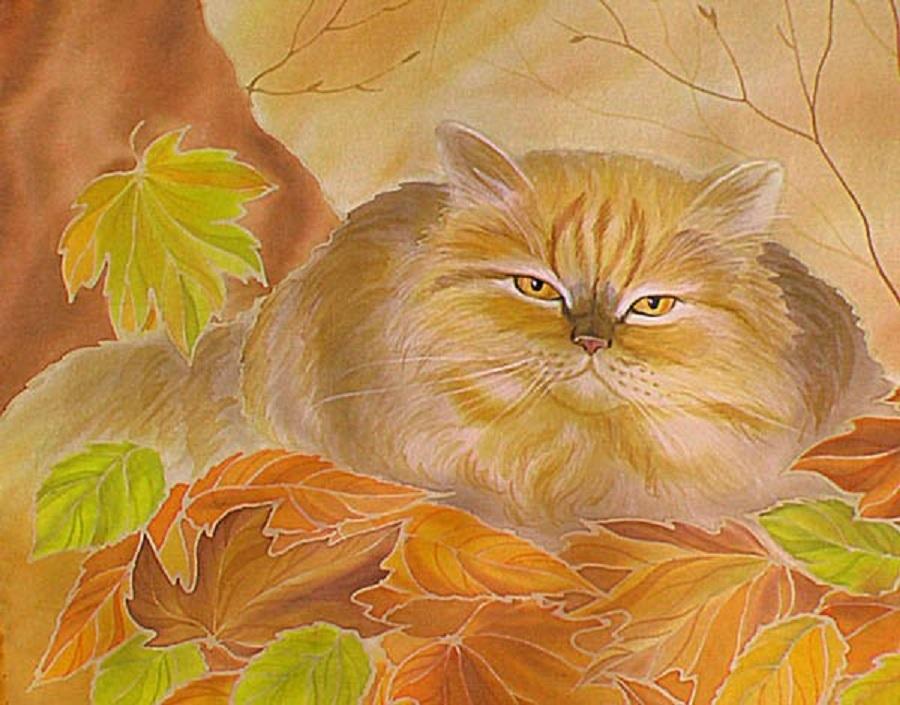 Осенний бал рисунки карандашом 012