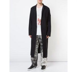 Пальто с принтом на спине 24 44 006