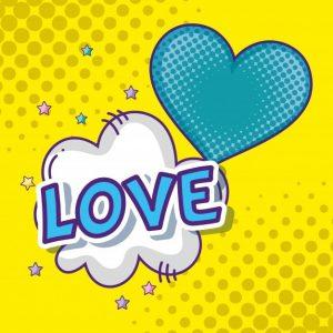 Поп арт любовь 014