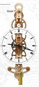 Скачать чертежи деревянных часов 003