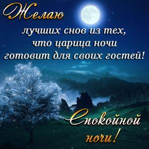 Спокойной ночи осенью милые картинки (7)