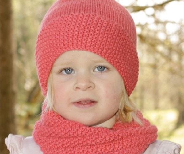 Схема вязания спицами детской шапки 011