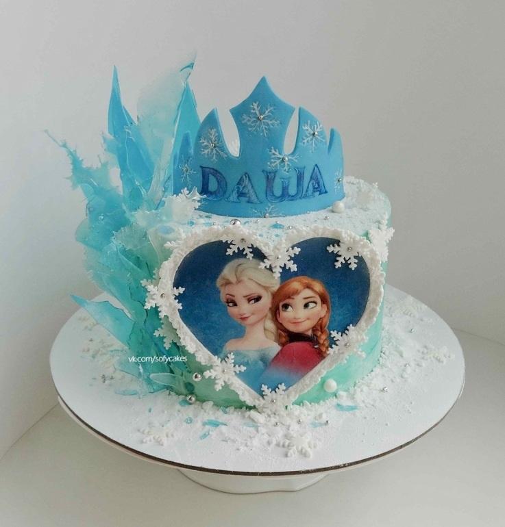торт в стиле холодное сердце фото нерон стоит плачет