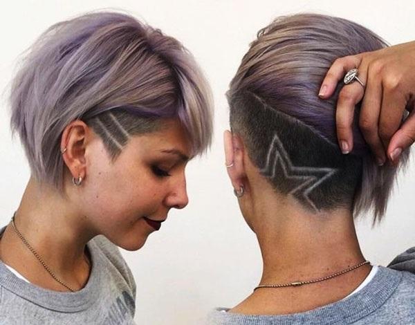 Узоры на женских волосах 016