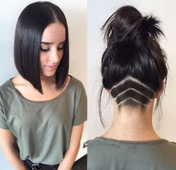 Узоры на женских волосах 017