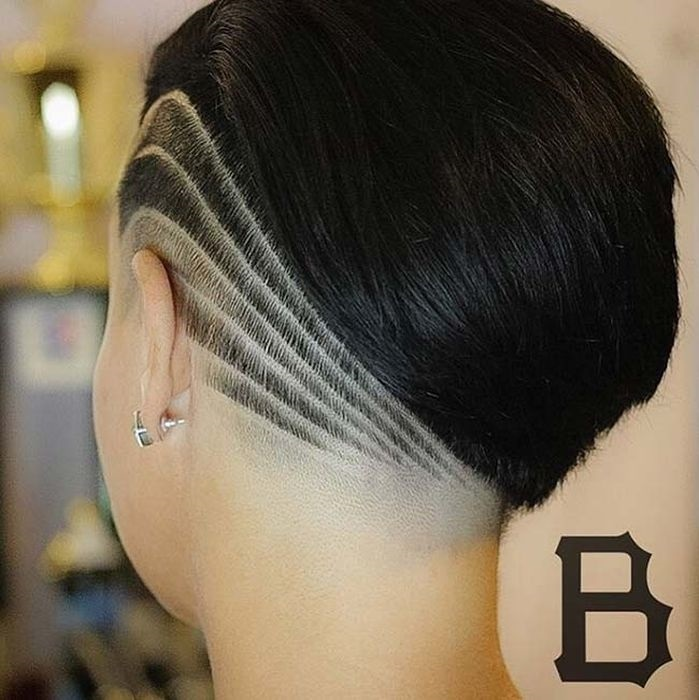 Узоры на женских волосах 022