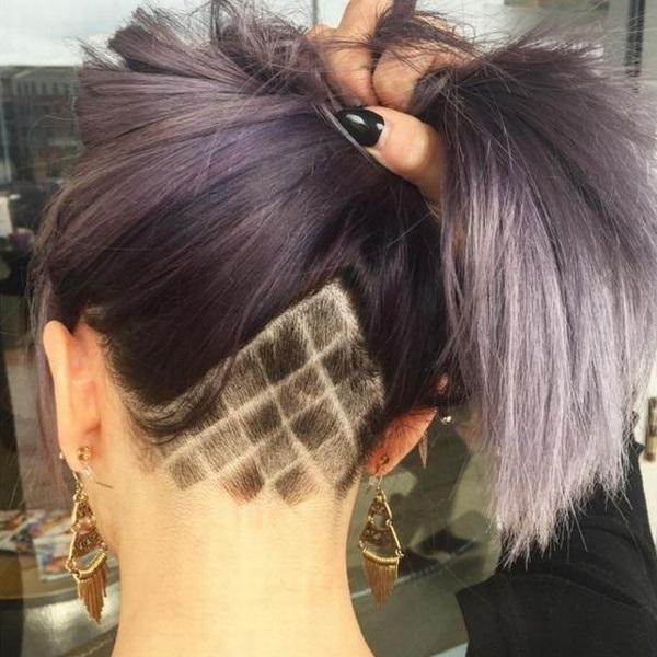 Узоры на женских волосах 023