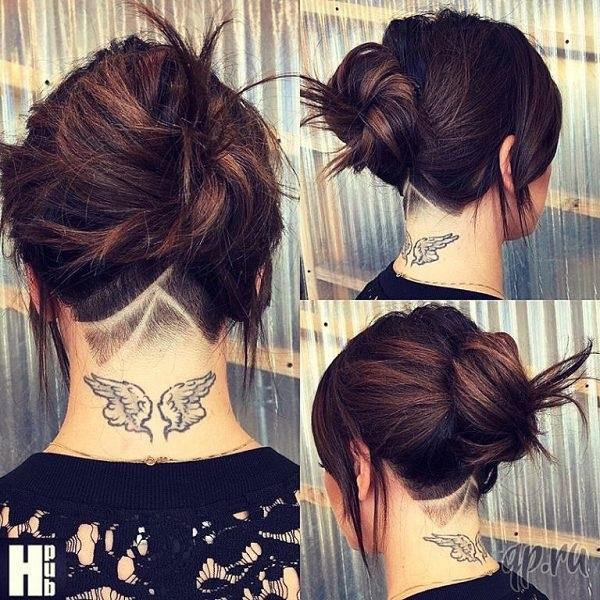 Узоры на женских волосах 027
