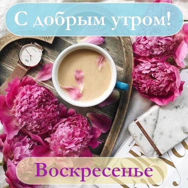 Утро воскресенье картинк и открытки019