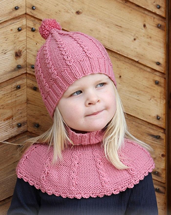 Фото детские шапки спицами 022