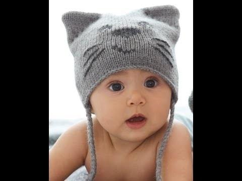 Фото детские шапки с ушками 001