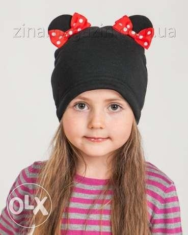 Фото детские шапки с ушками 002