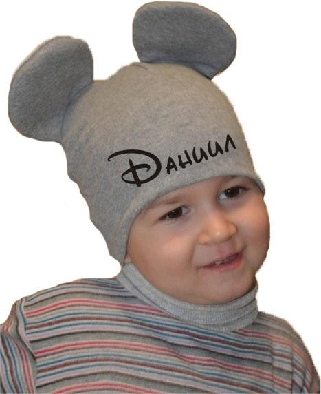 Фото детские шапки с ушками 005