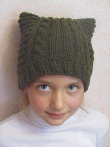 Фото детские шапки с ушками 011