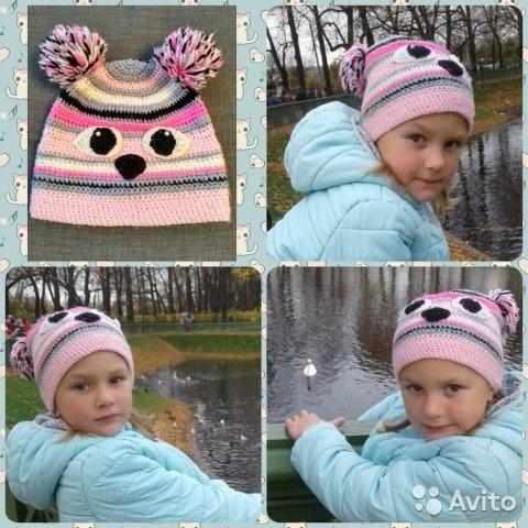 Фото детские шапки с ушками 012