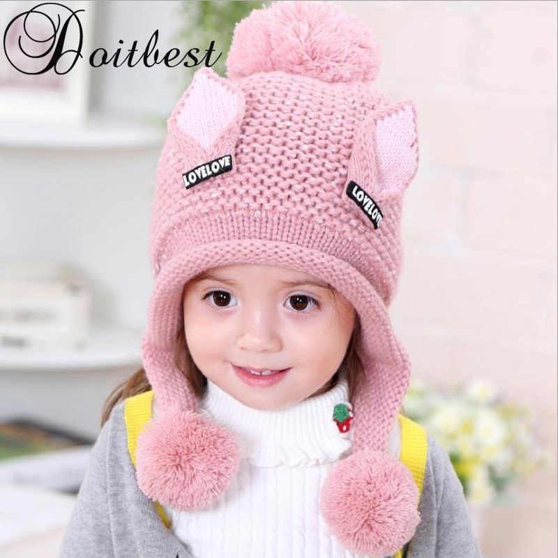 Фото детские шапки с ушками 013