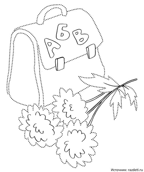 Черно белые картинки на тему осень для детей (20)