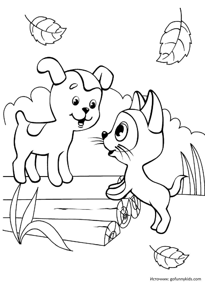 Черно белые картинки на тему осень для детей (21)