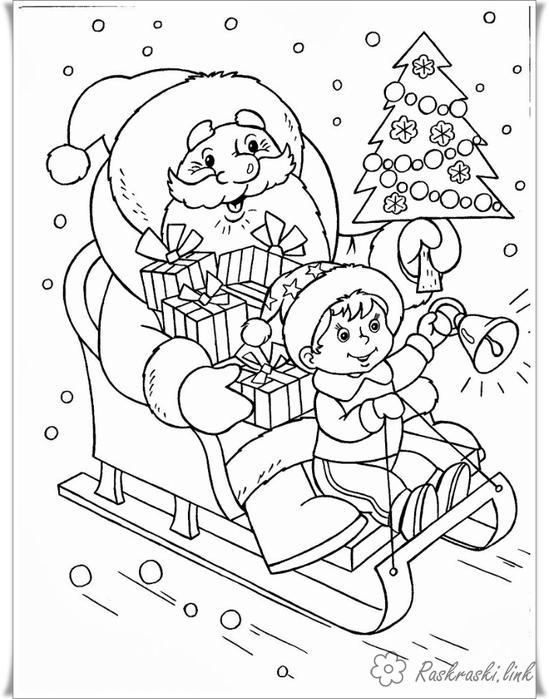 Черно белые картинки на тему осень для детей (8)